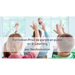 parler en public formation elearning