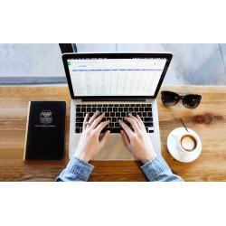 formation bureautique, les bases du graphique tableur Excel 2j en visio conférence (Zoom)
