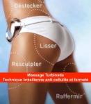 Le massage TURBINADA (soin minceur brésilien anti-capitons et fermeté)