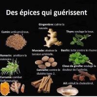 les principales épices pour la santé